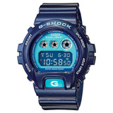 Casio G-Shock DW-6900CC-2 Metallic Blue Custom Assembled Resin Watch