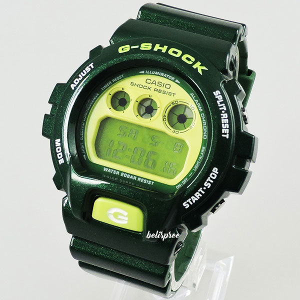 Casio G-Shock DW-6900CC-3 Metallic Green Custom Assembled Resin Watch