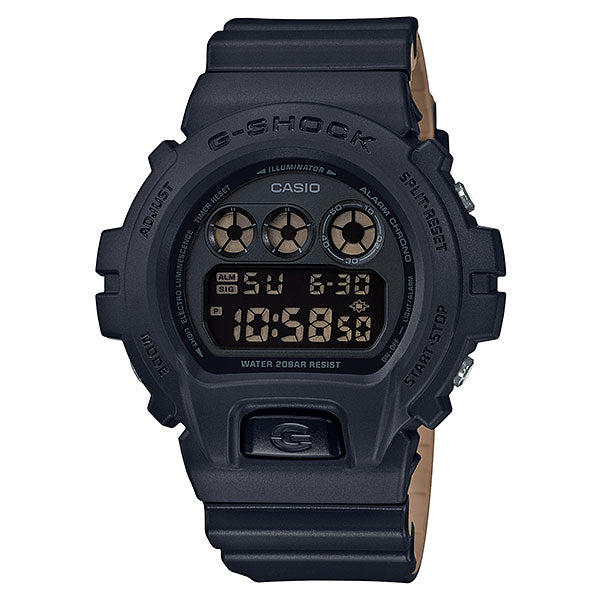 Casio G-Shock DW-6900LU-1A Military Black Brown Resin Watch