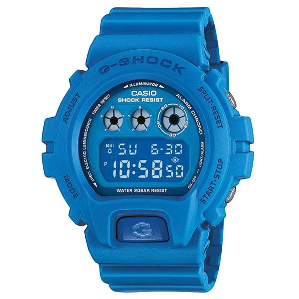 Casio G-Shock DW-6900MM-2 Smurf Custom Assembled Resin Watch