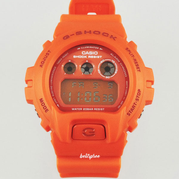 Casio G-Shock DW-6900MM-4 Orange Custom Assembled Resin Watch