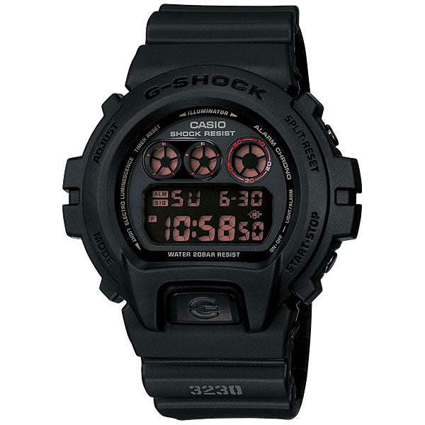 Casio G-Shock DW-6900MS-1 Polis Evo Resin Watch