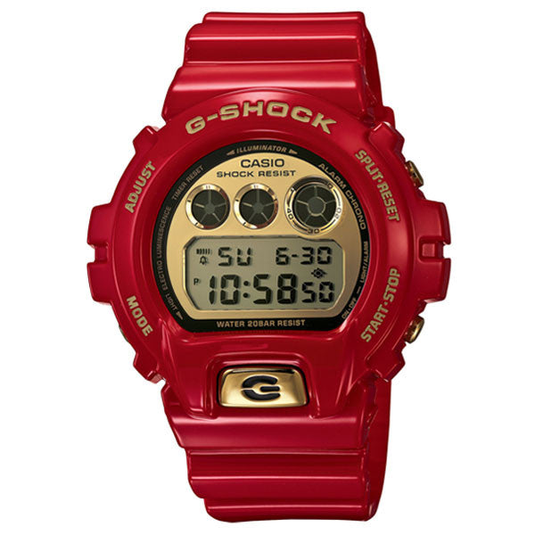 Casio G-Shock DW-6930A-4 30th Anniversary Rising Red Ironman Custom Assembled Resin Watch