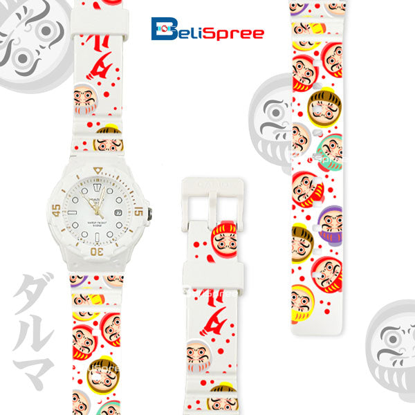 Casio LRW-200H Daruma Custom Design Japan Edition Resin Watch