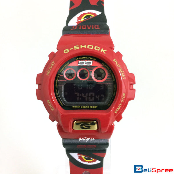 Casio G-Shock DW-6900 Diablo Custom Printed Assembled Resin Watch