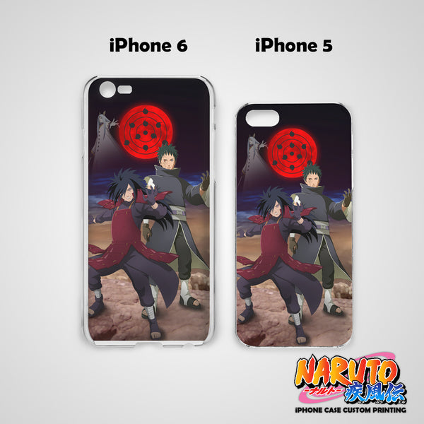 Naruto Eye Of Moon Hard & Soft Slim TPU iPhone Case Cover for Apple iPhone