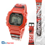 Casio F-108 Gundam Astray Red MBF-P02 Custom Design Special Edition Resin Watch