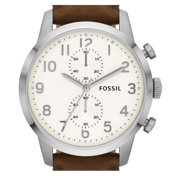 Fossil FS4872 Brown Leather Watch