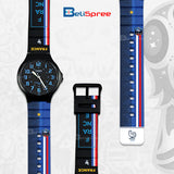 Casio MW-240 France Custom Design 2018 World Cup Series Resin Watch