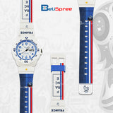 Casio MRW-200H France Custom Design 2018 World Cup Series Resin Watch