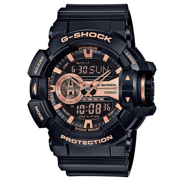 Casio G-Shock GA-400GB-1A4 Resin Watch