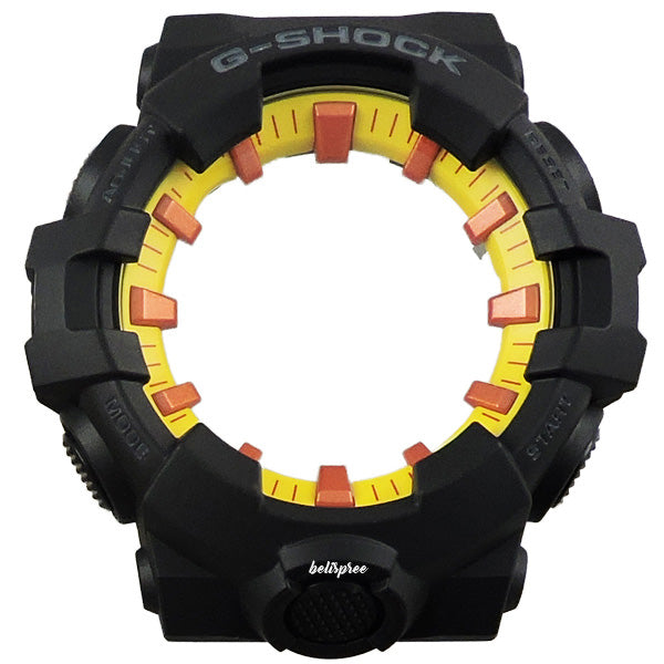 Casio G-Shock GA-700BY-1A Burning Sun Resin Band & Hardcase Bezel