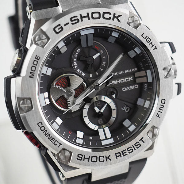 Casio G-Shock G-STEEL GST-B100-1A Resin Watch