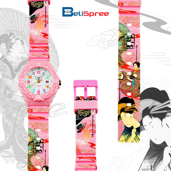 Casio LRW-200H Geisha Custom Design Japan Edition Resin Watch