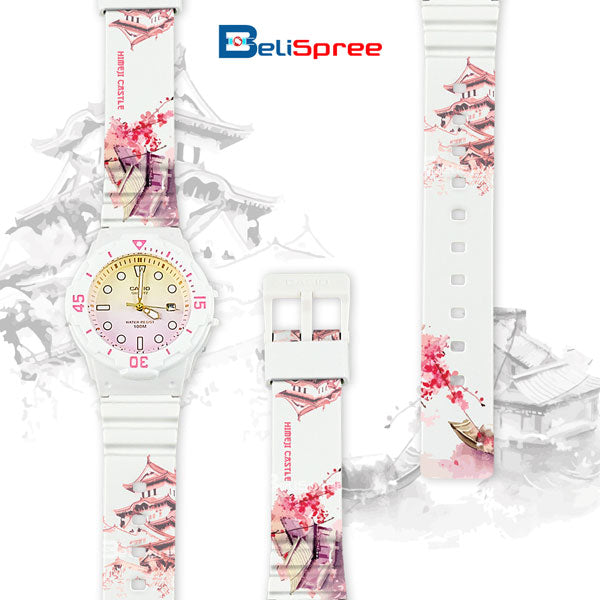 Casio LRW-200H Himeji Castle Custom Design Japan Edition Resin Watch