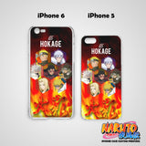 Naruto Hokage Hard & Soft Slim TPU iPhone Case Cover for Apple iPhone