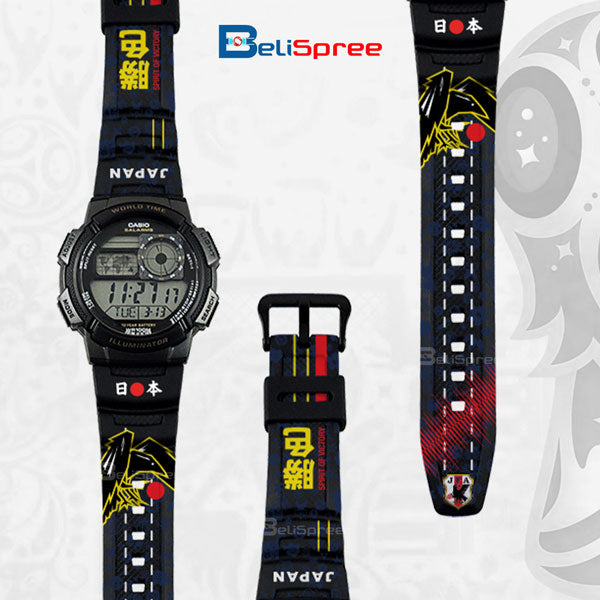 Casio AE-1000W Japan Custom Design 2018 World Cup Series Resin Watch