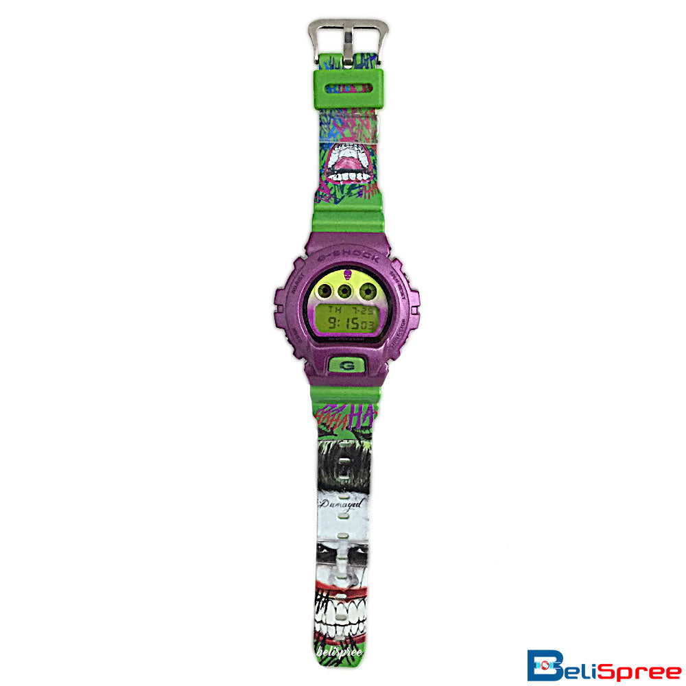 Casio G-Shock DW-6900 Joker Custom Printed Assembled Resin Watch