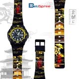 Casio MRW-200H Kinkakuji Custom Design Japan Edition Resin Watch
