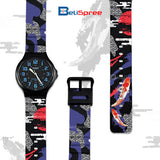 Casio MW-240 Koi Custom Design Japan Edition Resin Watch