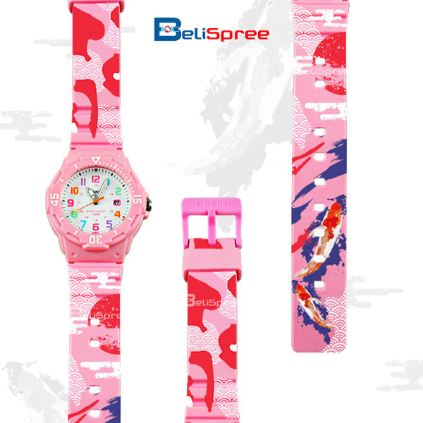 Casio LRW-200H Koi Custom Design Japan Edition Resin Watch