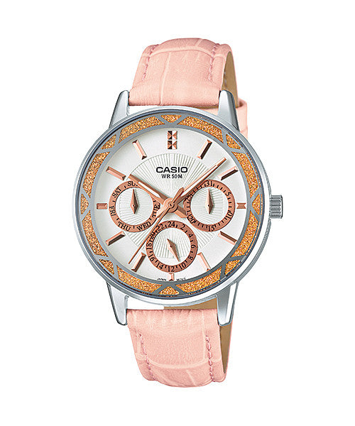 Casio LTP-2087L-4AV Women's Leather Watch