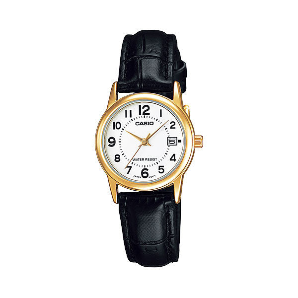 Casio LTP-V002GL-7B Women's Leather Watch