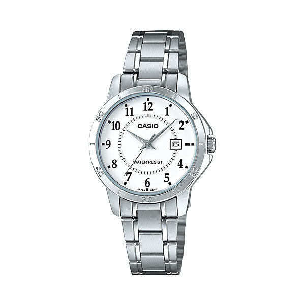 Casio LTP-V004D-7B Women's Stainless Steel Watch