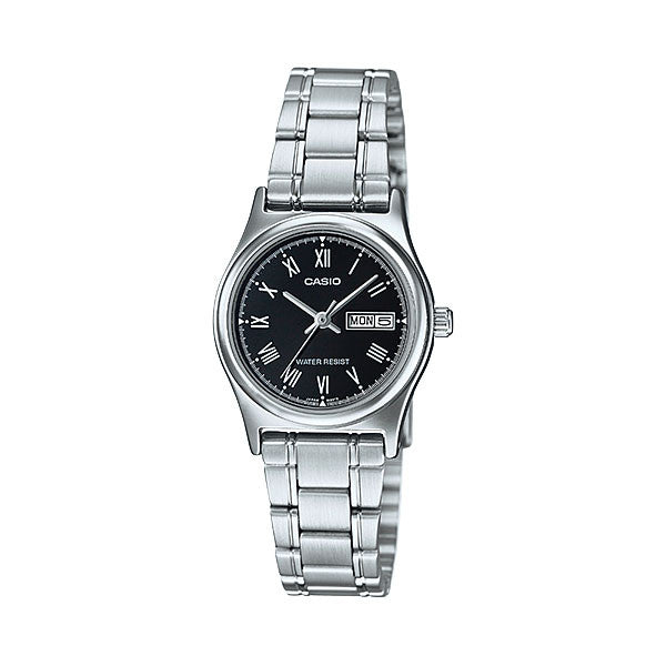 Casio LTP-V006D-1B Women's Stainless Steel Watch