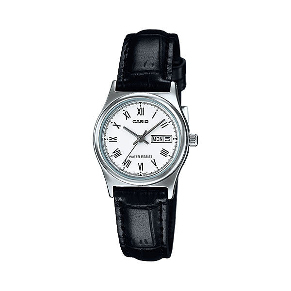 Casio LTP-V006L-7B Women's Leather Watch