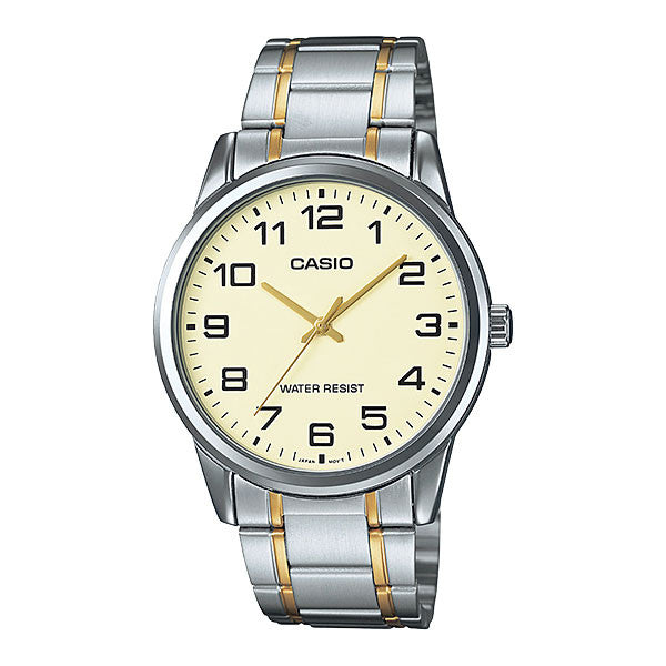 Casio MTP-V001SG-9B Men's Stainless Steel Watch
