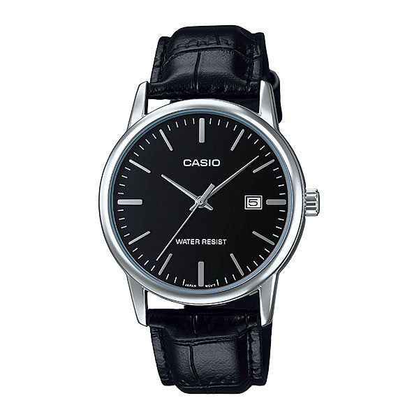 Casio MTP-V002L-1A Men's Leather Watch