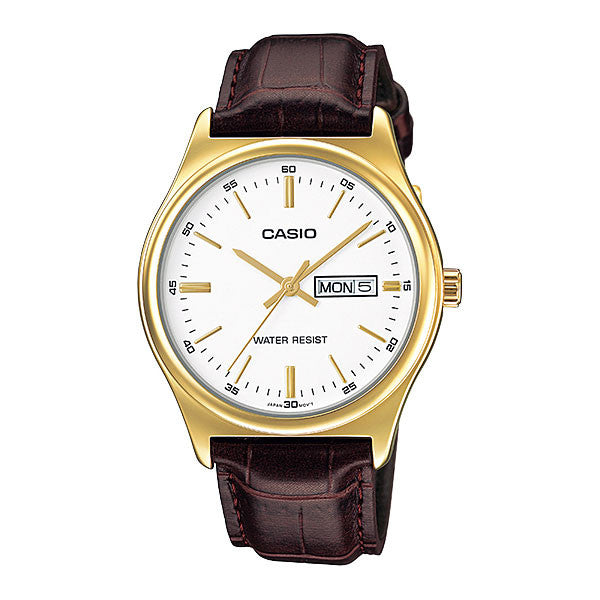 Casio MTP-V003GL-7A Men's Leather Watch