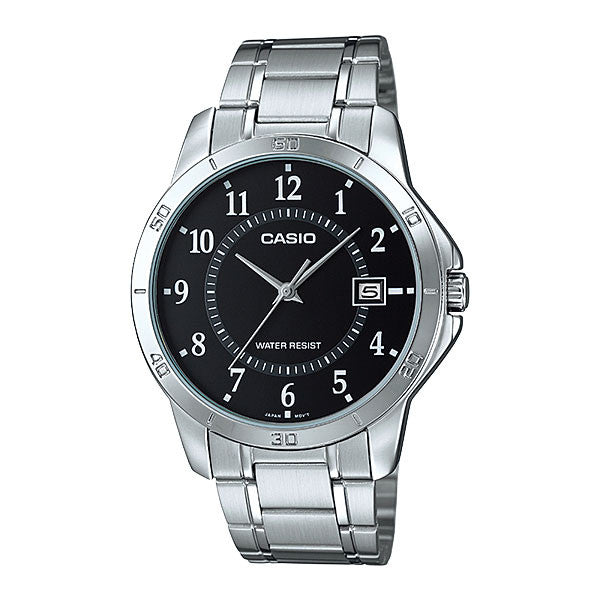 Casio MTP-V004D-1B Men's Stainless Steel Watch