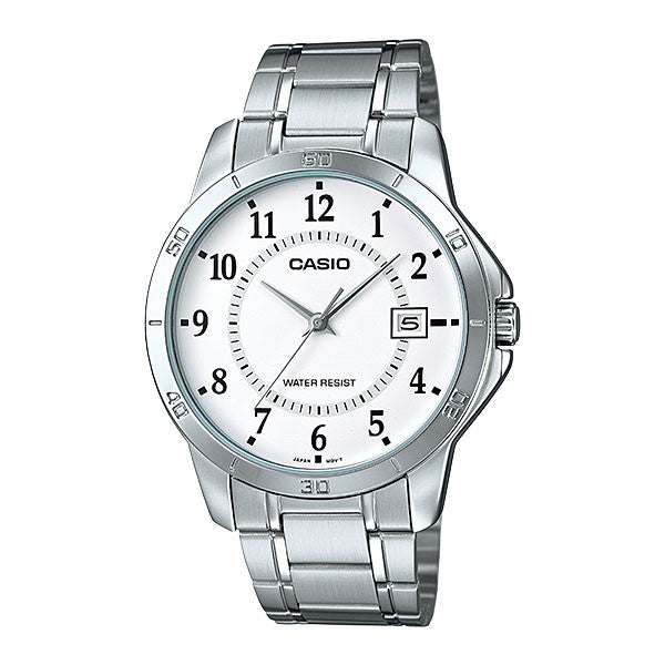 Casio MTP-V004D-7B Men's Stainless Steel Watch