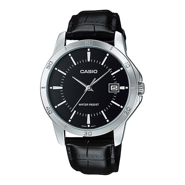Casio MTP-V004L-1A Men's Leather Watch