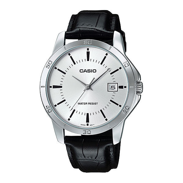 Casio MTP-V004L-7A Men's Leather Watch
