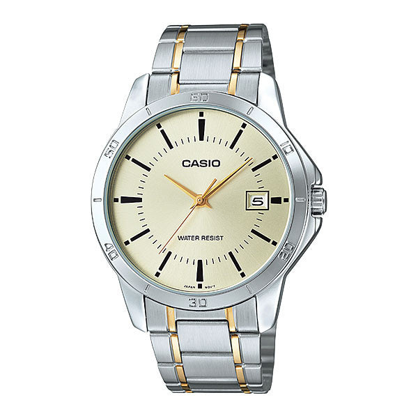 Casio MTP-V004SG-9A Men's Stainless Steel Watch