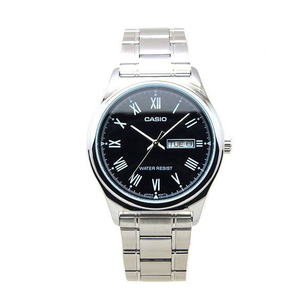 Casio MTP-V006D-1B Men's Stainless Steel Watch