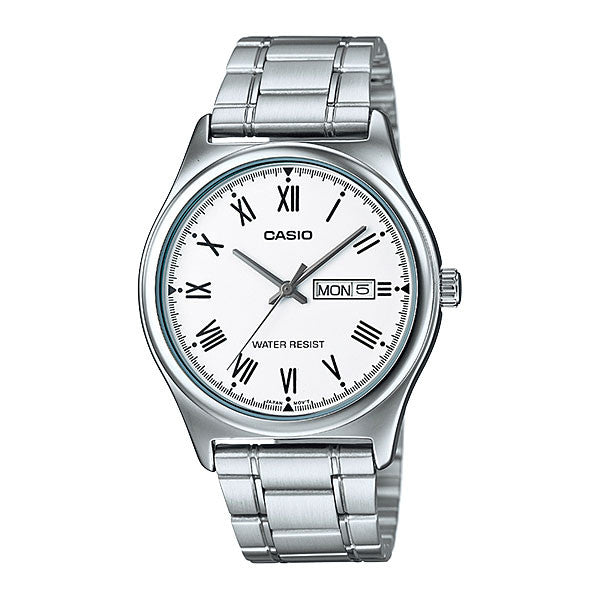 Casio MTP-V006D-7B Men's Stainless Steel Watch