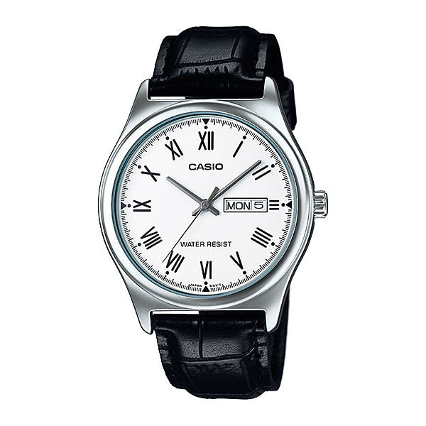Casio MTP-V006L-7B Men's Leather Watch