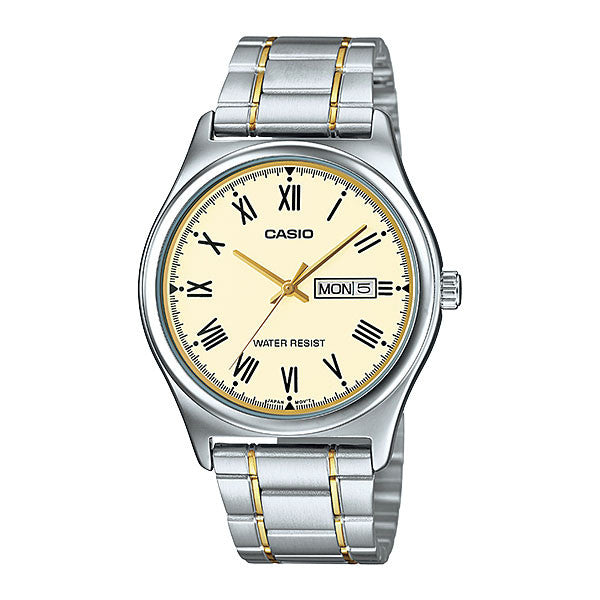 Casio MTP-V006SG-9B Men's Stainless Steel Watch