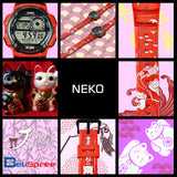 Casio AE-1000W Neko Cat Custom Design Japan Edition Resin Watch