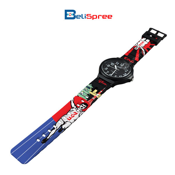 Casio MW-240 Glico Man Custom Design Japan Edition Resin Watch