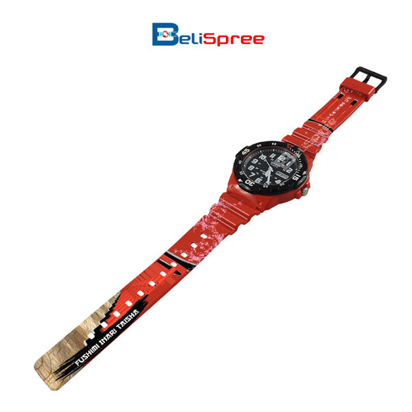 Casio MRW-200H Inari Shrine Custom Design Japan Edition Resin Watch