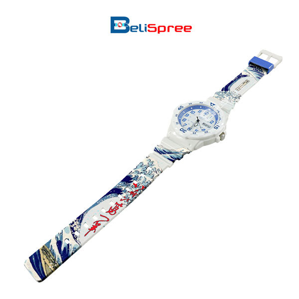 Casio MRW-200H Wave of Kanagawa Custom Design Japan Edition Resin Watch