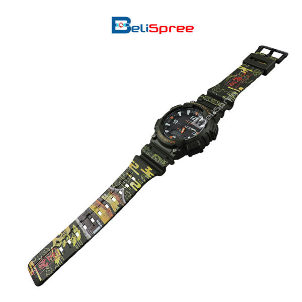 Casio AQ-S810W Kinkakuji Custom Design Japan Edition Resin Watch