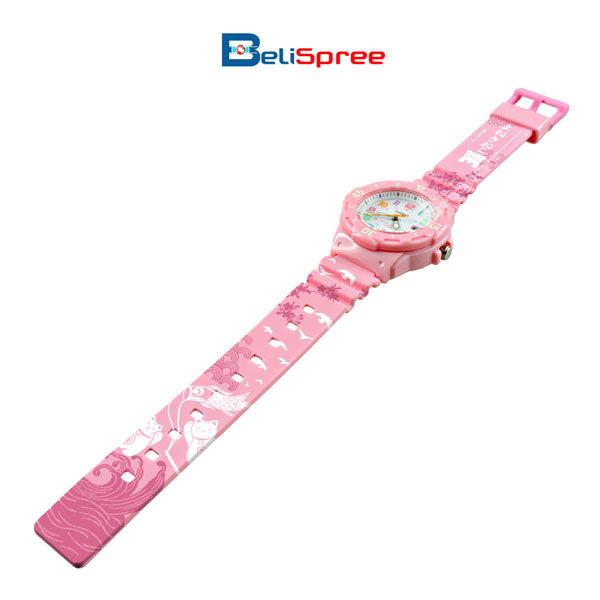 Casio LRW-200H Neko Cat Custom Design Japan Edition Resin Watch