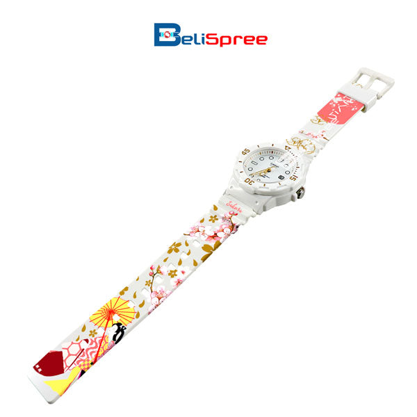 Casio LRW-200H Sakura Custom Design Japan Edition Resin Watch