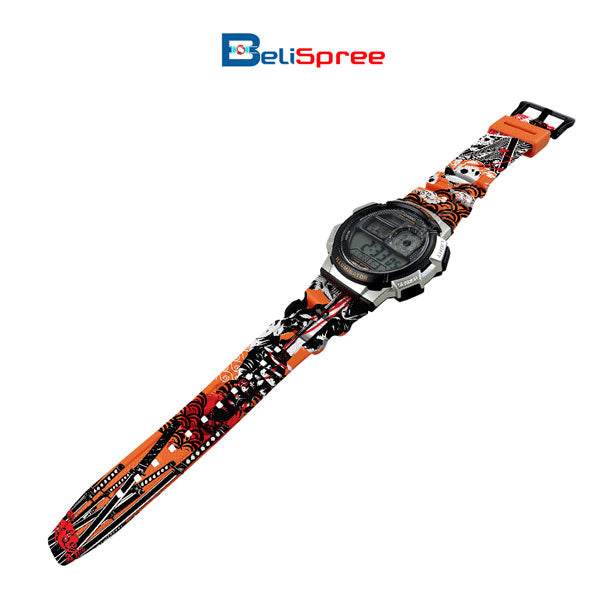 Casio AE-1000W Seppuku Custom Design Japan Edition Resin Watch